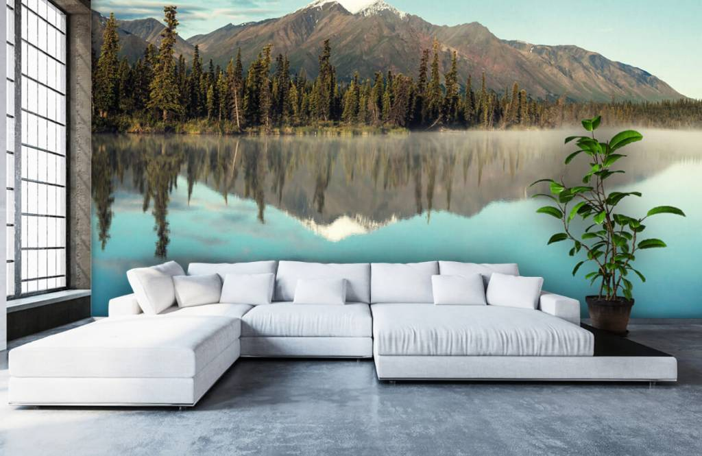 Mountains - Landscape in Alaska - Living room 2