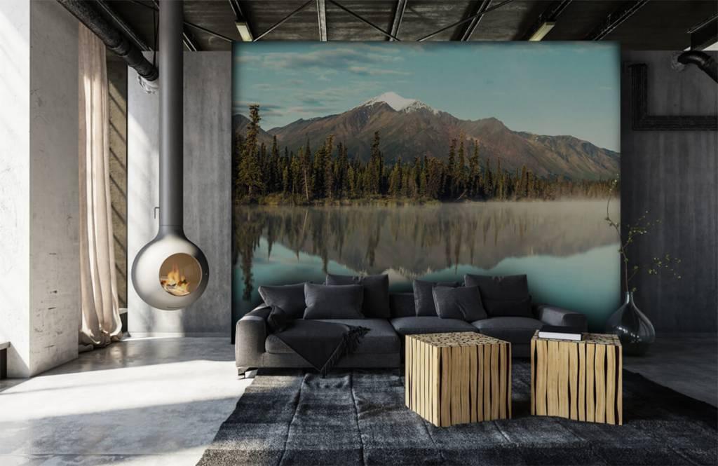 Mountains - Landscape in Alaska - Living room 3