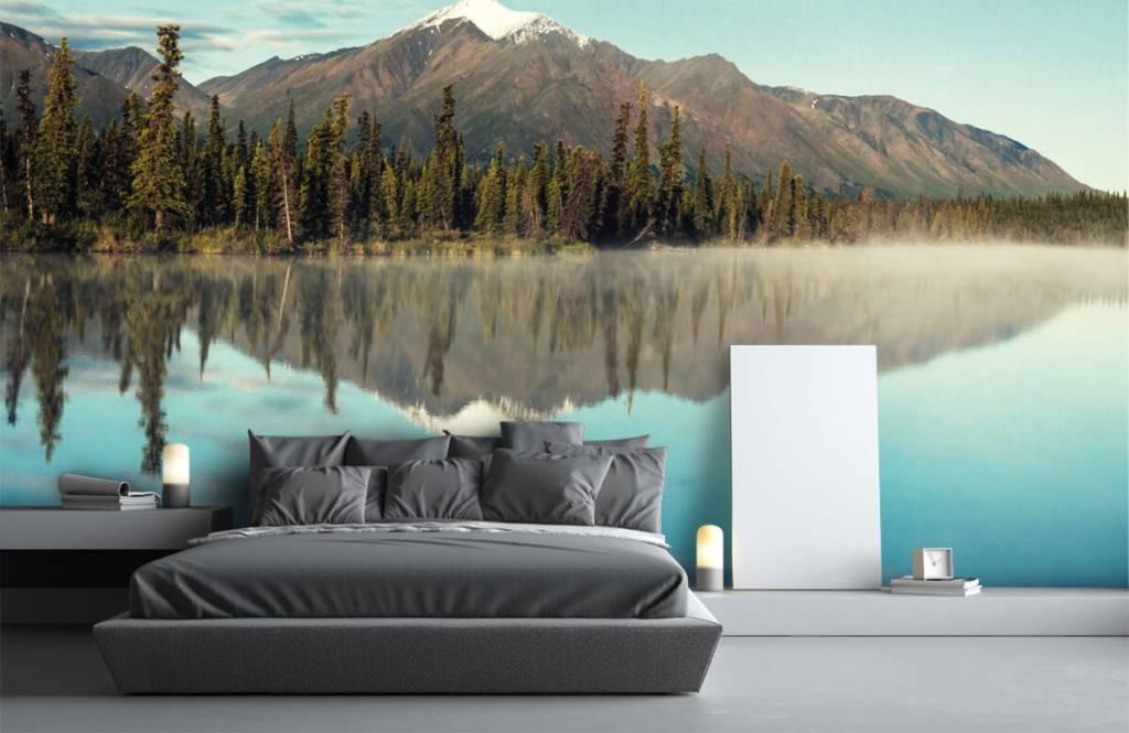 Mountains - Landscape in Alaska - Living room 4