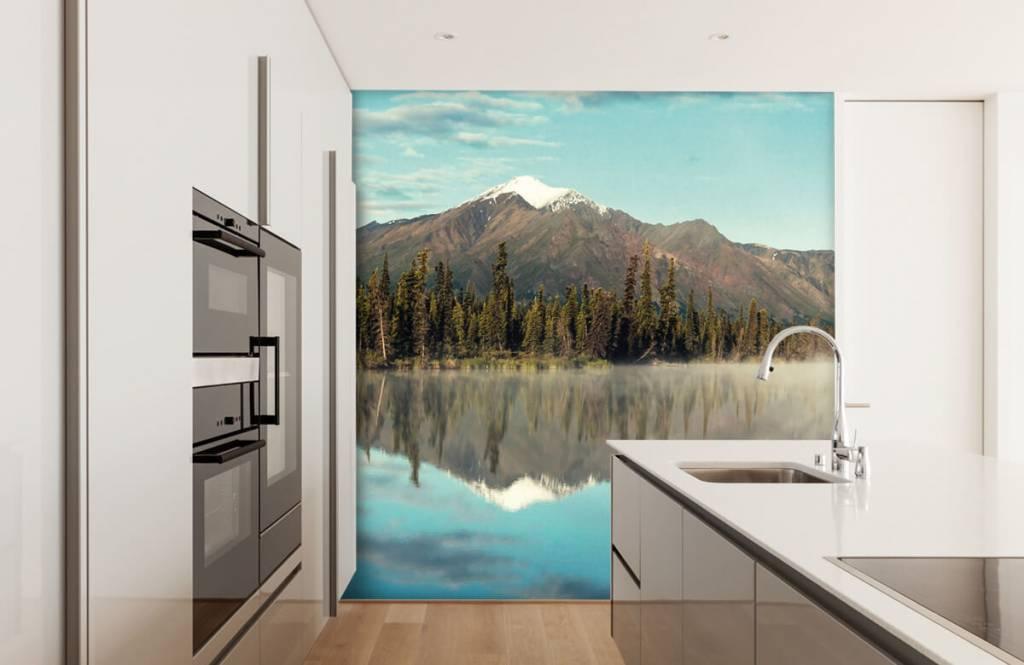 Mountains - Landscape in Alaska - Living room 5