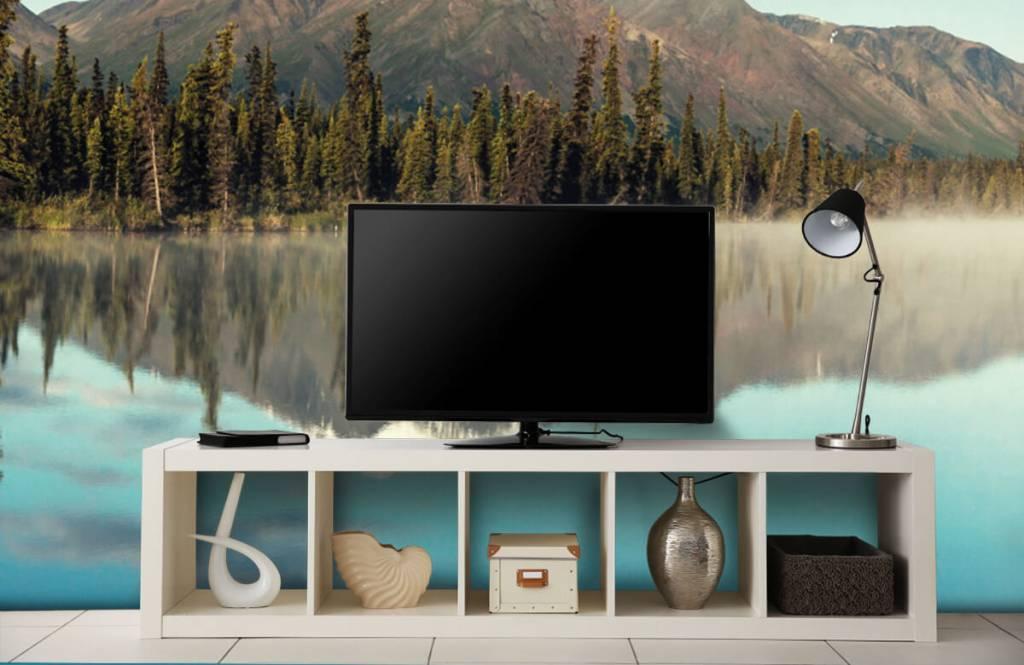 Mountains - Landscape in Alaska - Living room 6