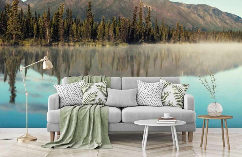 Mountains - Landscape in Alaska - Living room 7