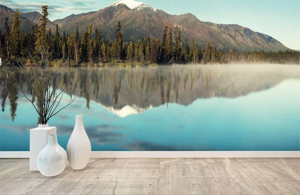 Mountains - Landscape in Alaska - Living room 8