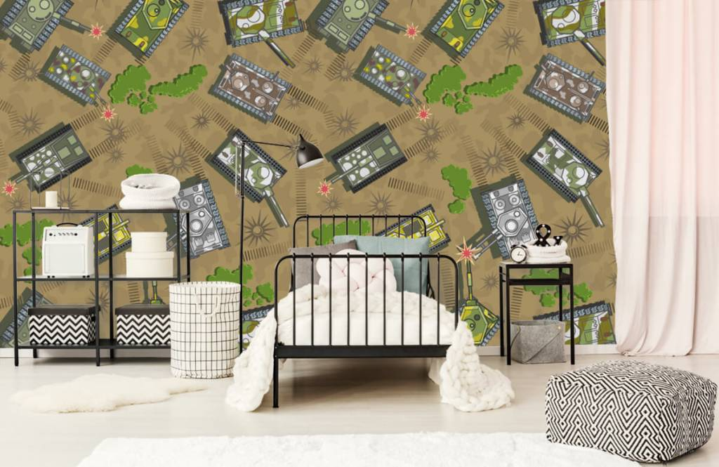 Other - Army tanks - Children's room 2