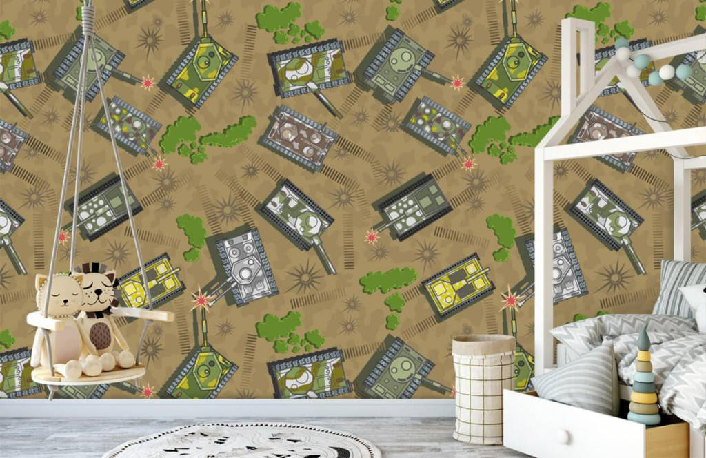 Other - Army tanks - Children's room 3