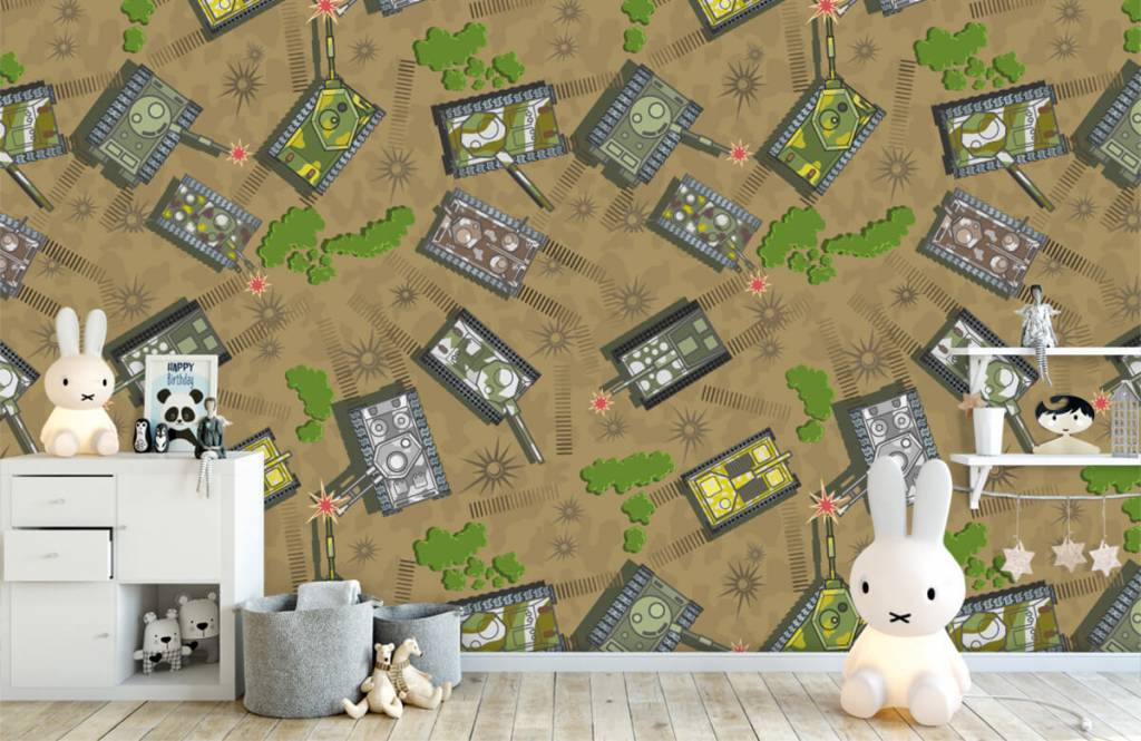 Other - Army tanks - Children's room 4