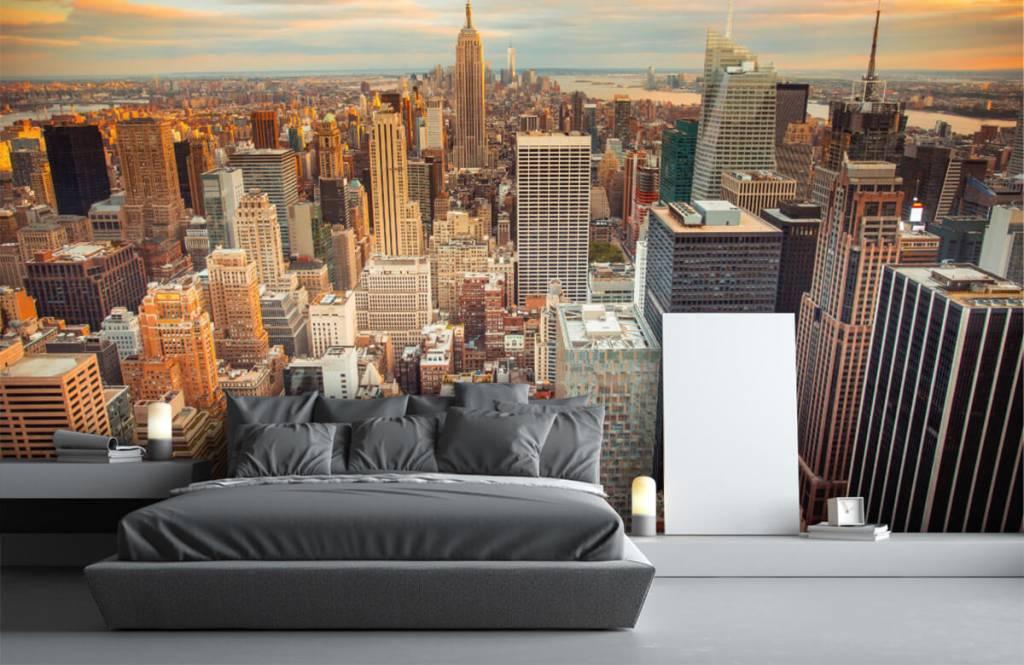 Cities wallpaper - Manhattan - Teenage room 1