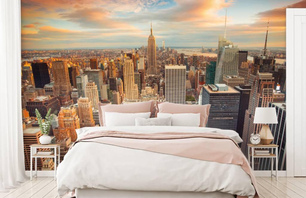 Cities wallpaper - Manhattan - Teenage room 2