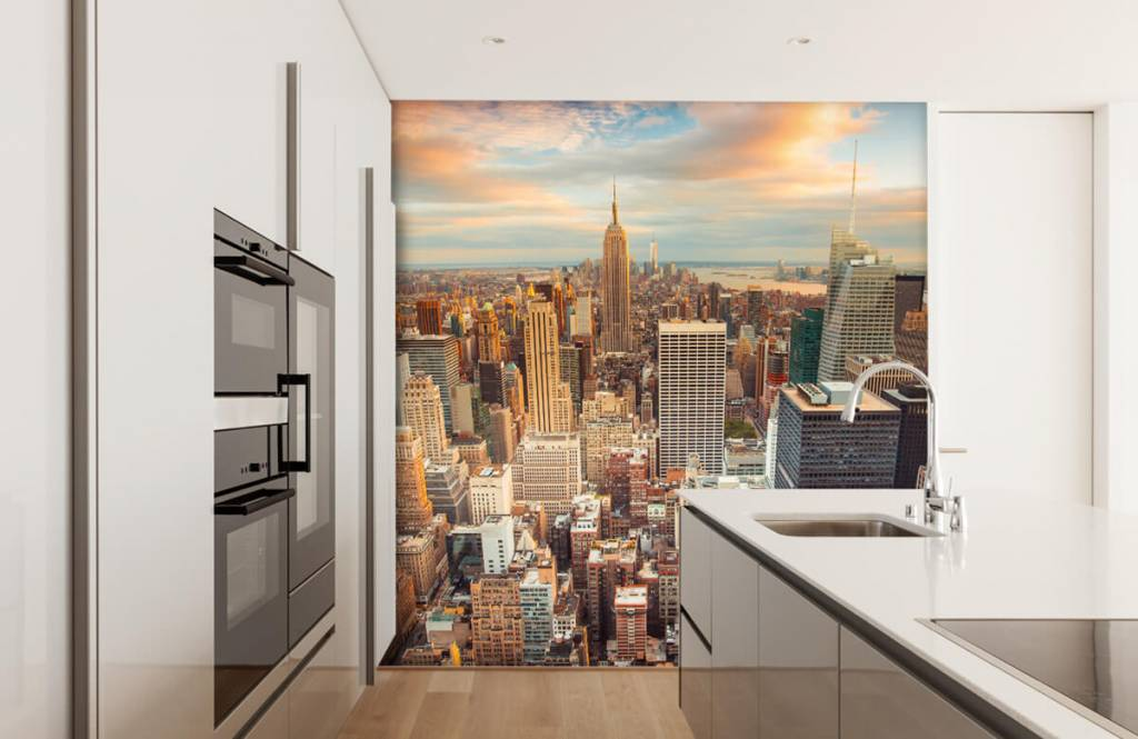 Cities wallpaper - Manhattan - Teenage room 3
