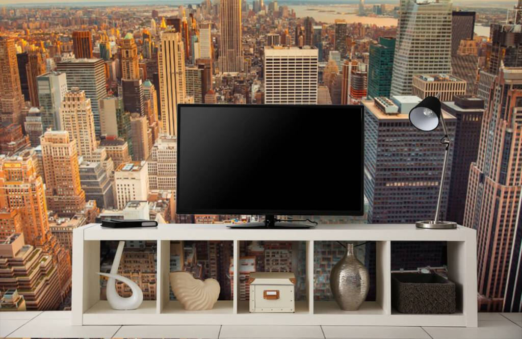 Cities wallpaper - Manhattan - Teenage room 4