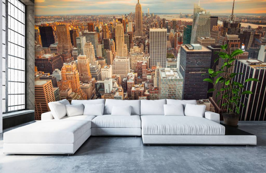 Cities wallpaper - Manhattan - Teenage room 5