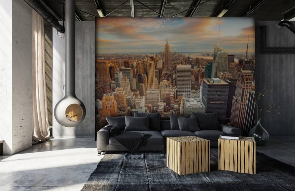 Cities wallpaper - Manhattan - Teenage room 6