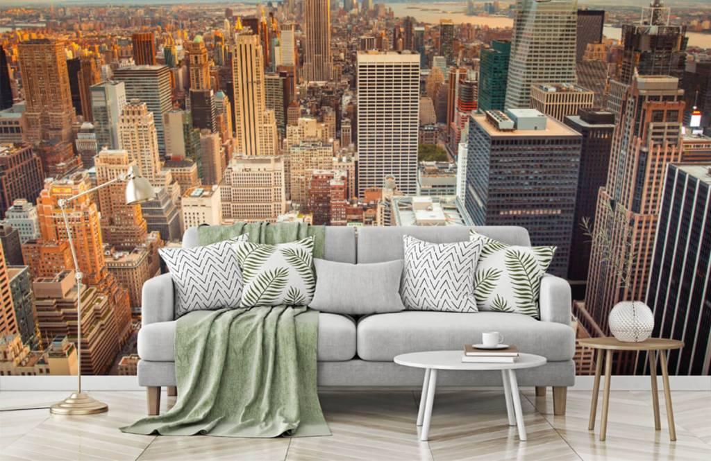 Cities wallpaper - Manhattan - Teenage room 7