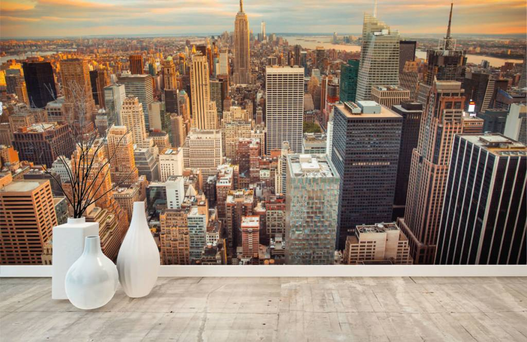Cities wallpaper - Manhattan - Teenage room 8