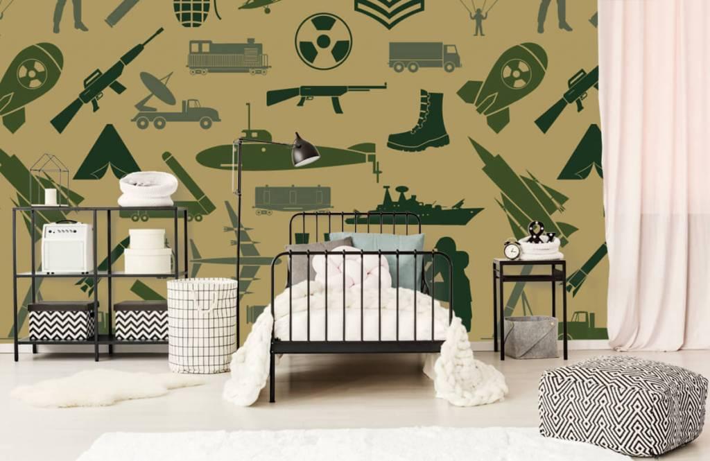 Other - Military illustrations - Children's room 1