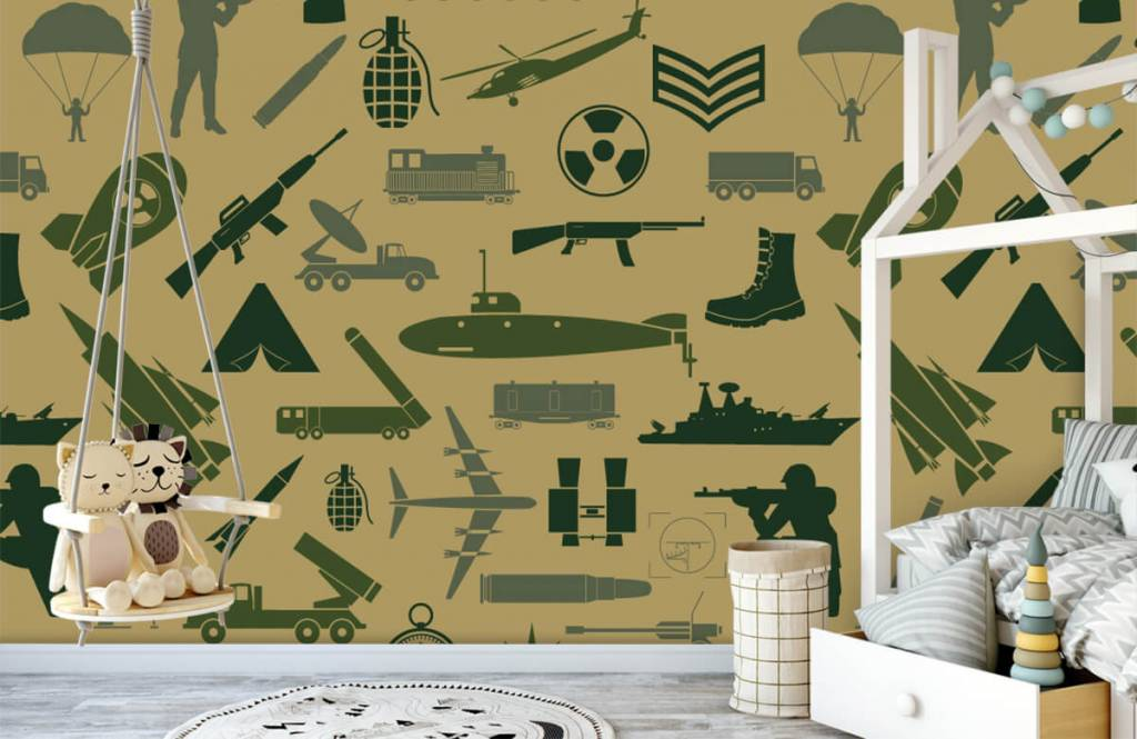 Other - Military illustrations - Children's room 3