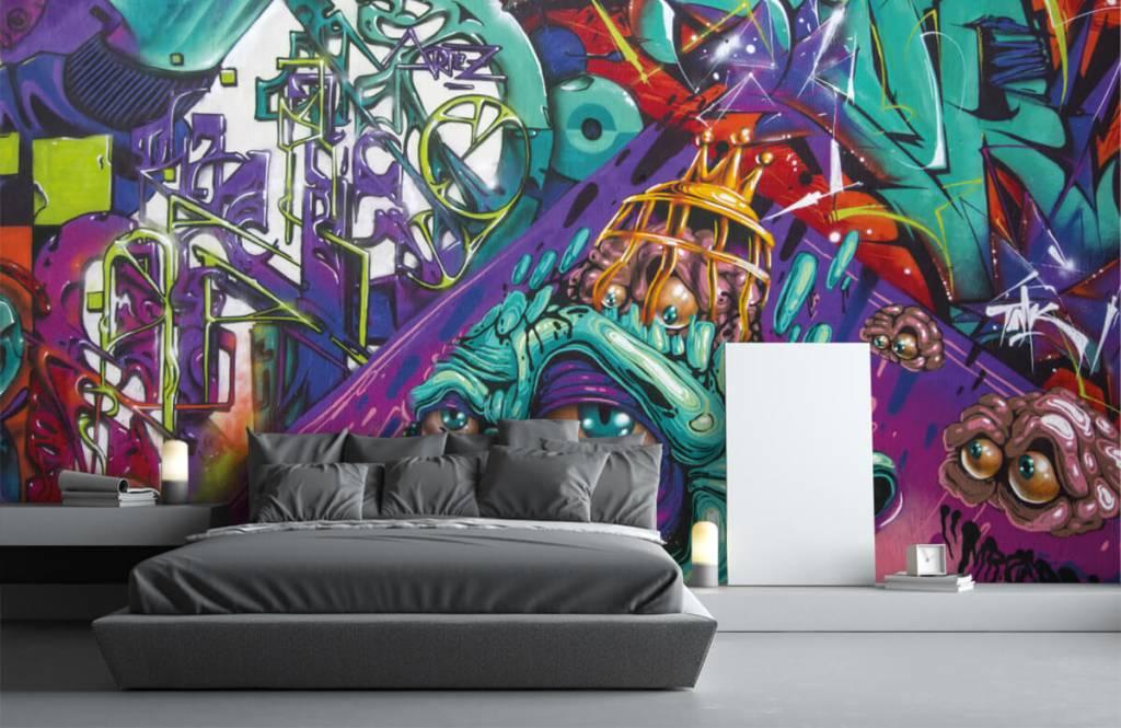 Graffiti - Moderne graffiti - Teenage room 1