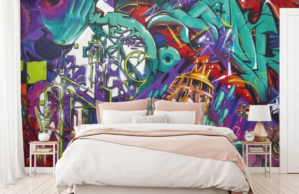 Graffiti - Moderne graffiti - Teenage room 2