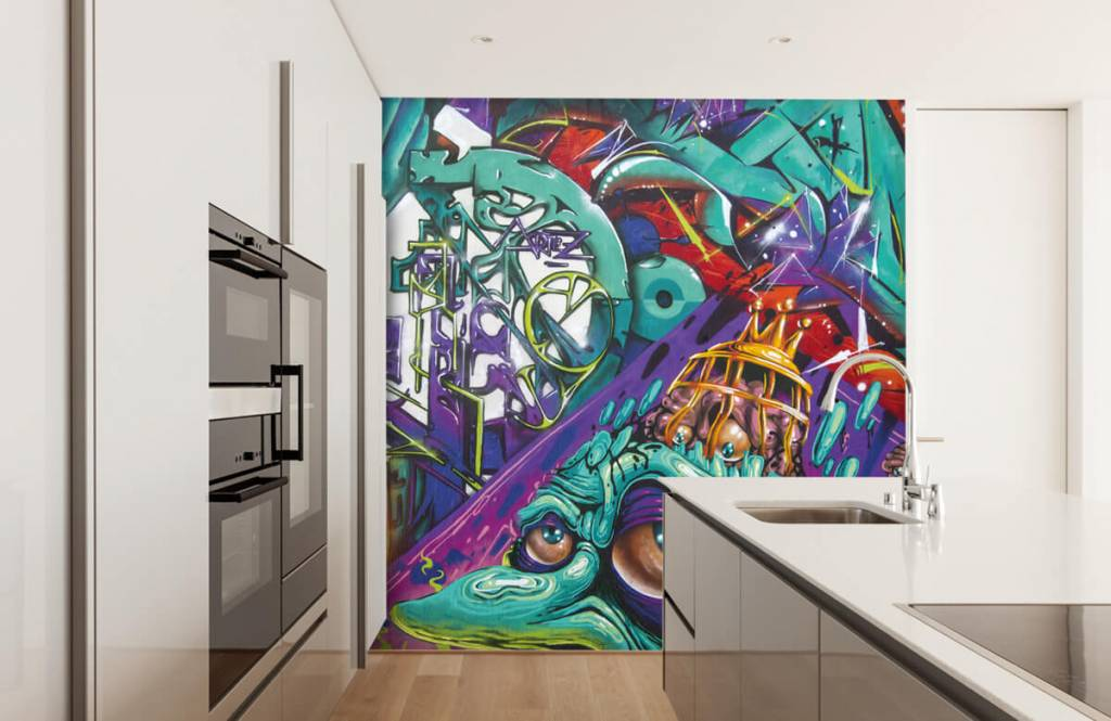 Graffiti - Moderne graffiti - Teenage room 3