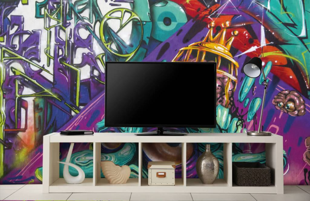 Graffiti - Moderne graffiti - Teenage room 4