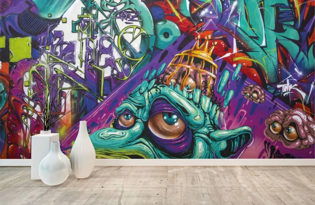 Graffiti - Moderne graffiti - Teenage room 5