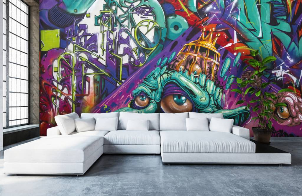 Graffiti - Moderne graffiti - Teenage room 6