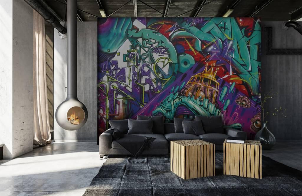 Graffiti - Moderne graffiti - Teenage room 7
