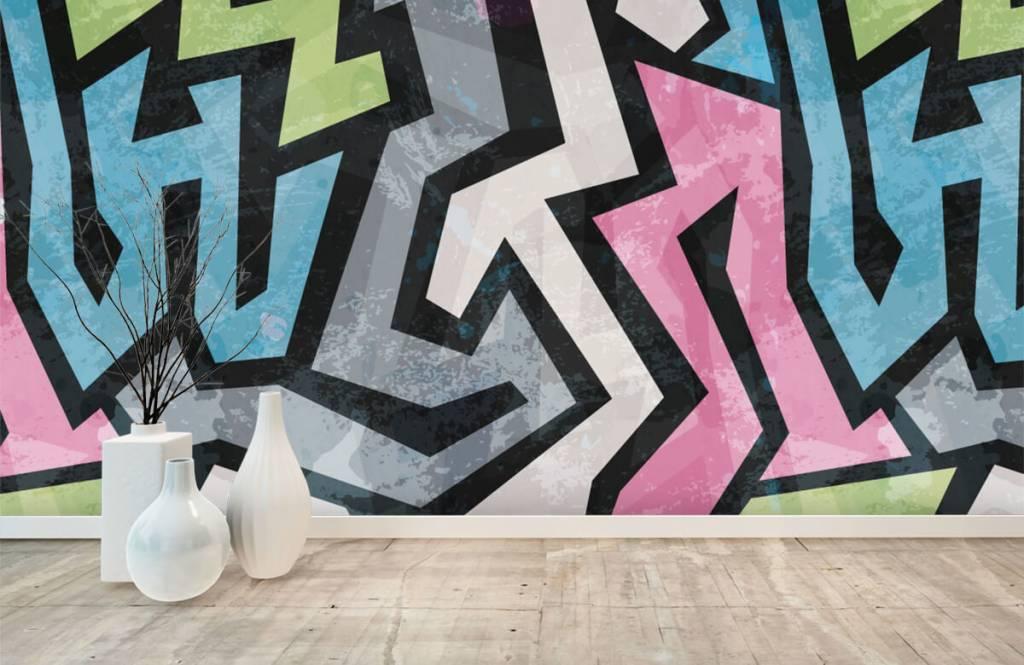 Graffiti - Moderne graffiti - Teenage room 8