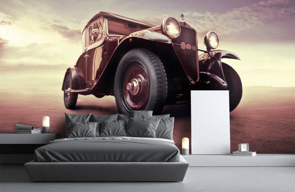 Transportation - Oldtimer in perspective - Teenage room 3