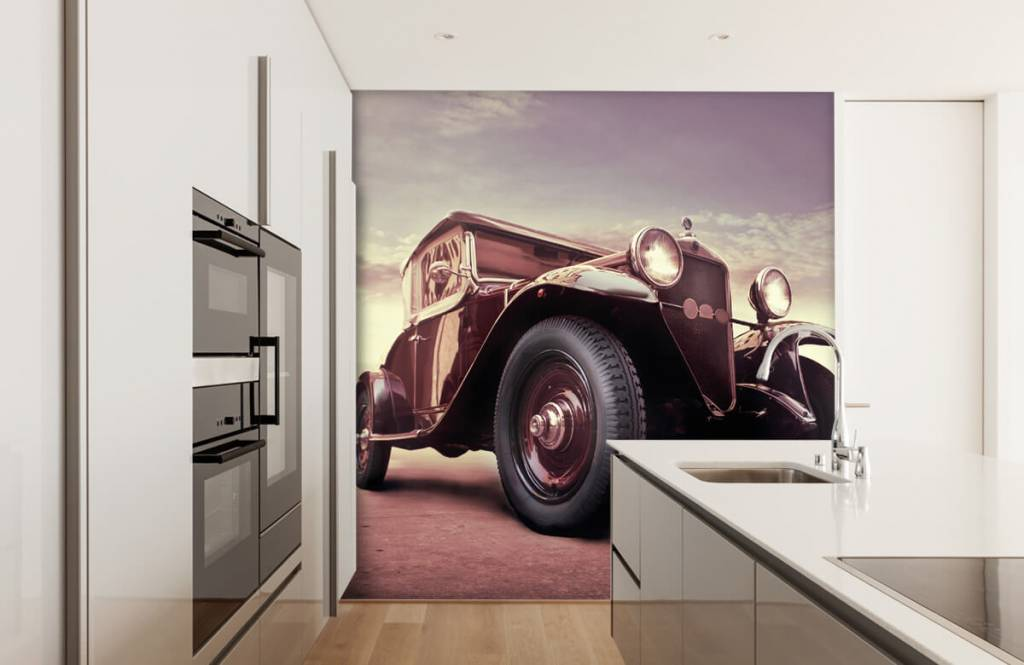 Transportation - Oldtimer in perspective - Teenage room 4