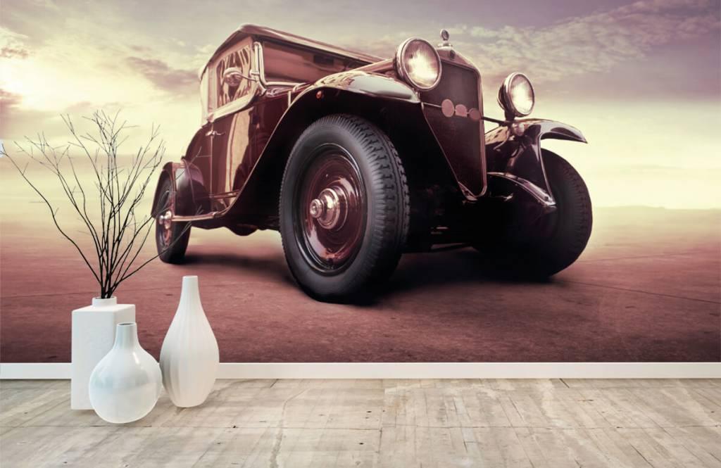 Transportation - Oldtimer in perspective - Teenage room 8