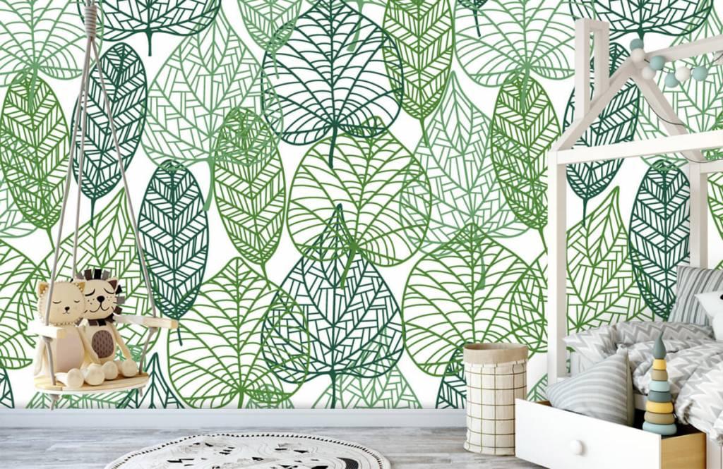 Leaves - Openwork green leaves - Hobby room 4