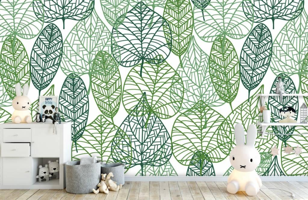 Leaves - Openwork green leaves - Hobby room 5
