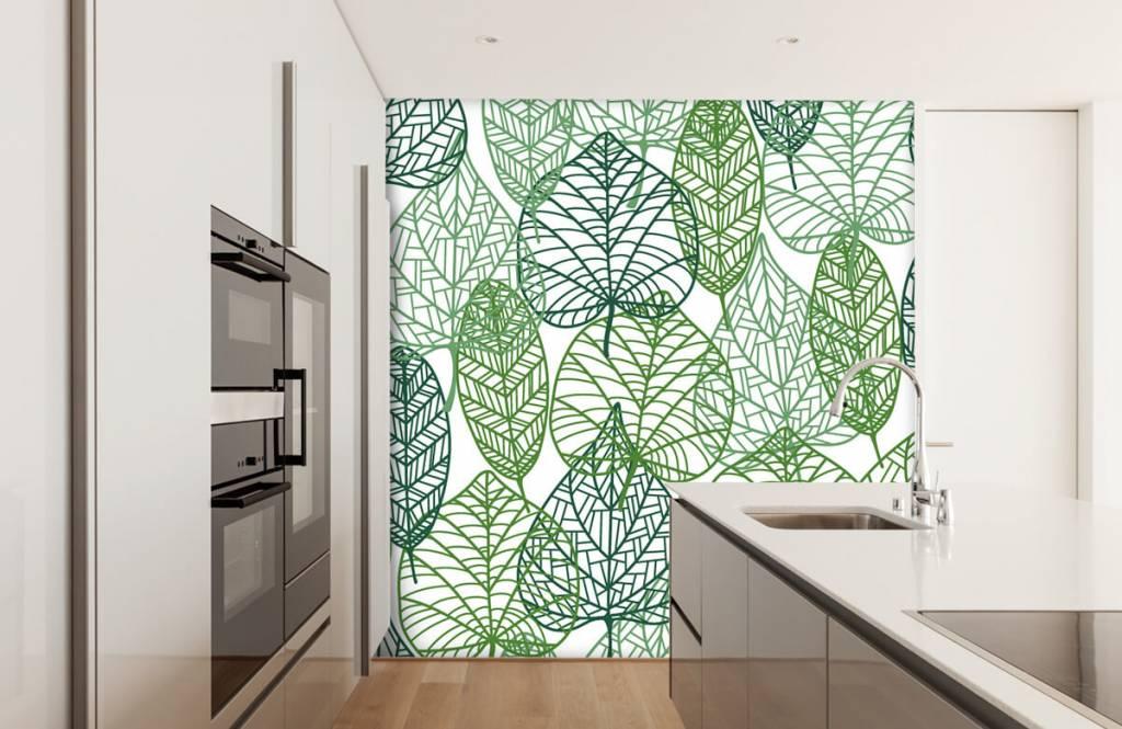 Leaves - Openwork green leaves - Hobby room 6