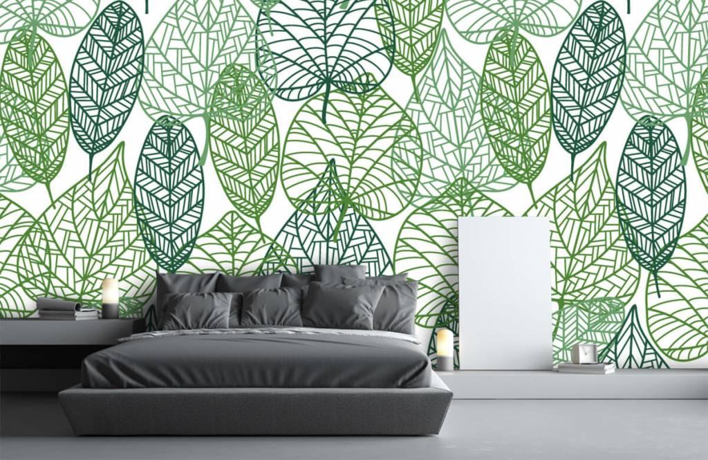 Leaves - Openwork green leaves - Hobby room 7