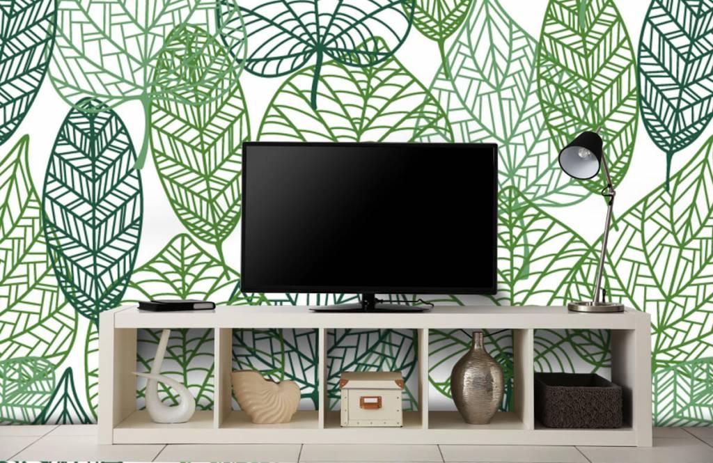 Leaves - Openwork green leaves - Hobby room 8