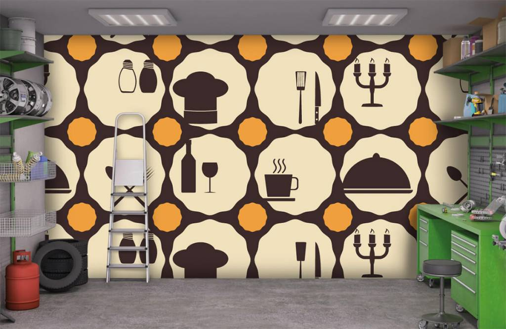 Other - Restaurant symbols - Kitchen 8