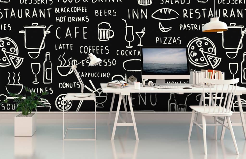 Text wallpaper - Restaurant texts - Kitchen 1