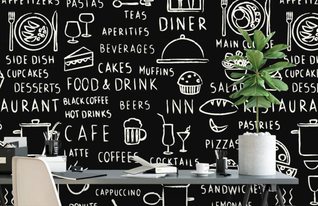 Text wallpaper - Restaurant texts - Kitchen 2