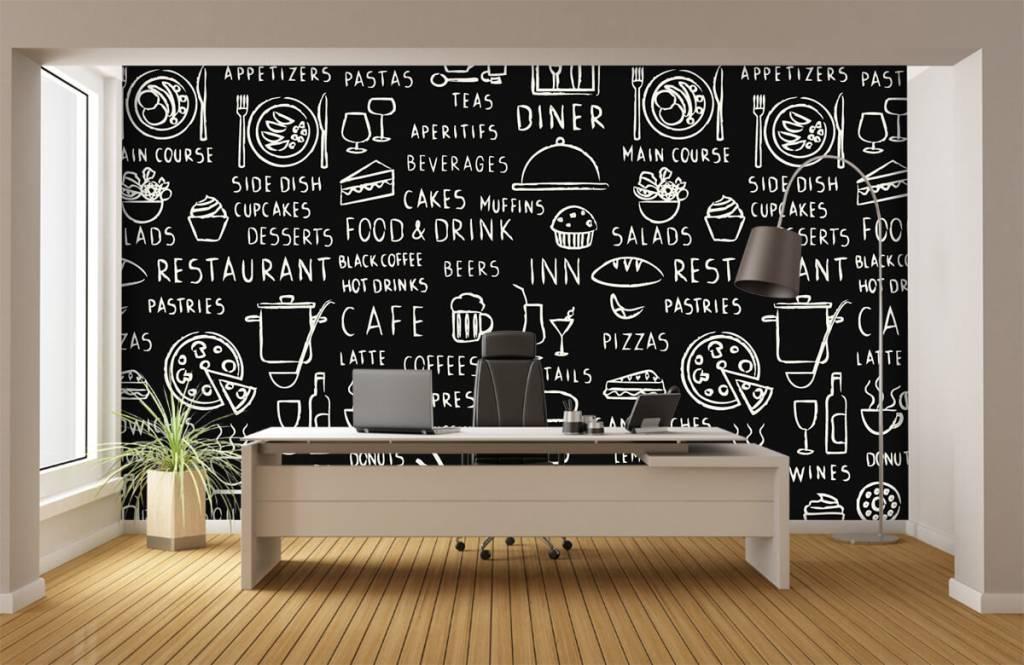 Text wallpaper - Restaurant texts - Kitchen 3