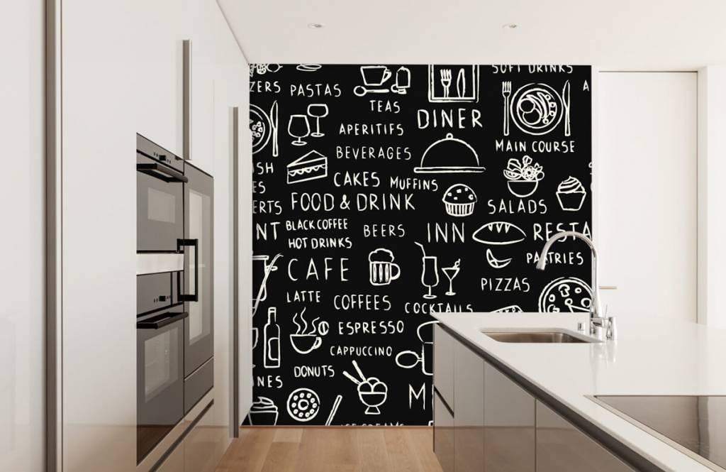 Text wallpaper - Restaurant texts - Kitchen 4