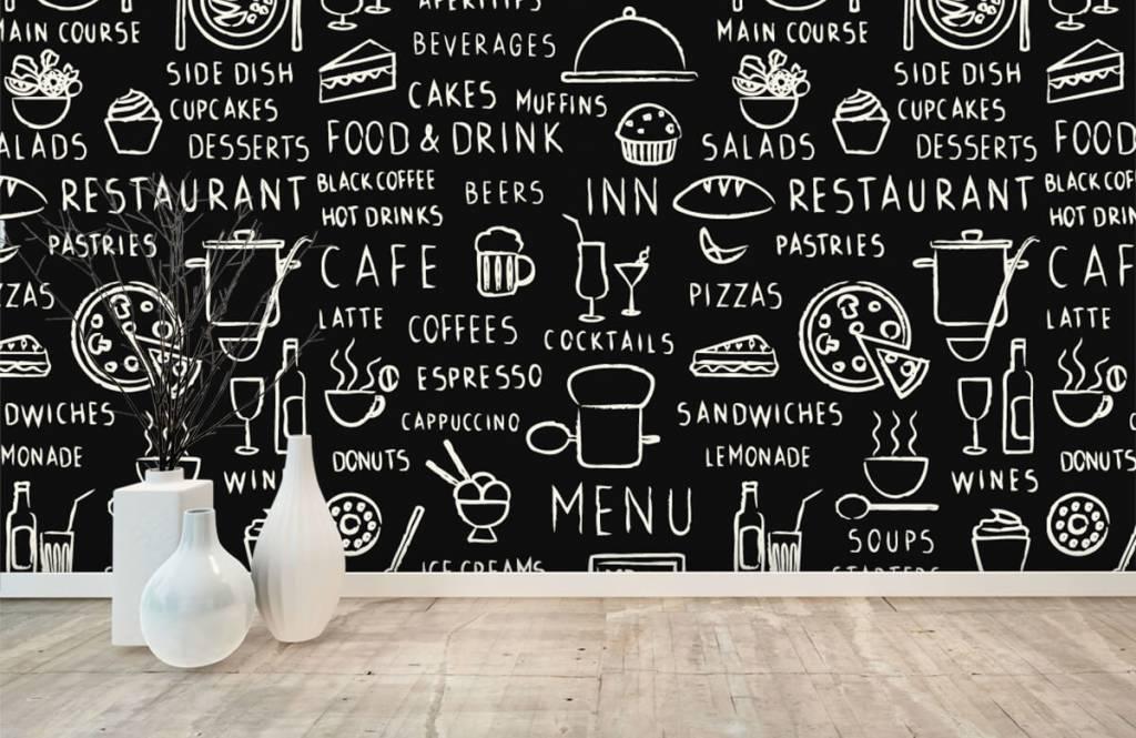 Text wallpaper - Restaurant texts - Kitchen 7