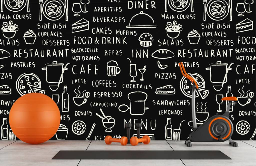 Text wallpaper - Restaurant texts - Kitchen 8