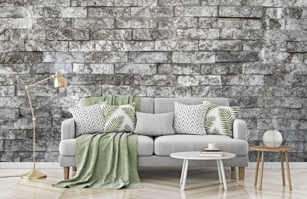 Stone wallpaper - Robust stones - Garage 1