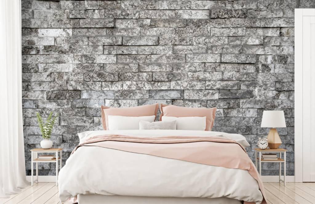 Stone wallpaper - Robust stones - Garage 2