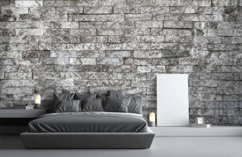Stone wallpaper - Robust stones - Garage 3