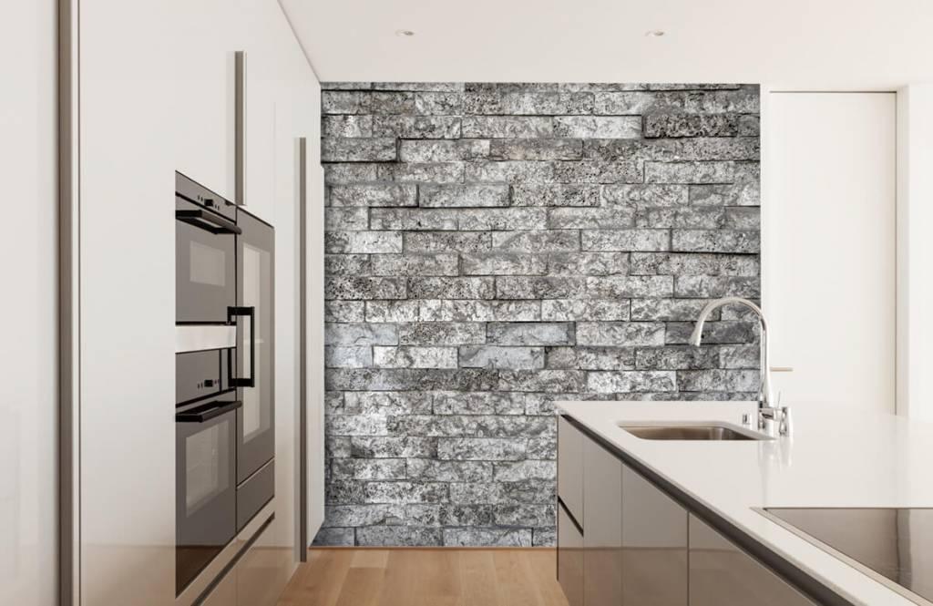 Stone wallpaper - Robust stones - Garage 4