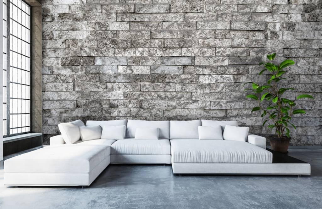 Stone wallpaper - Robust stones - Garage 6