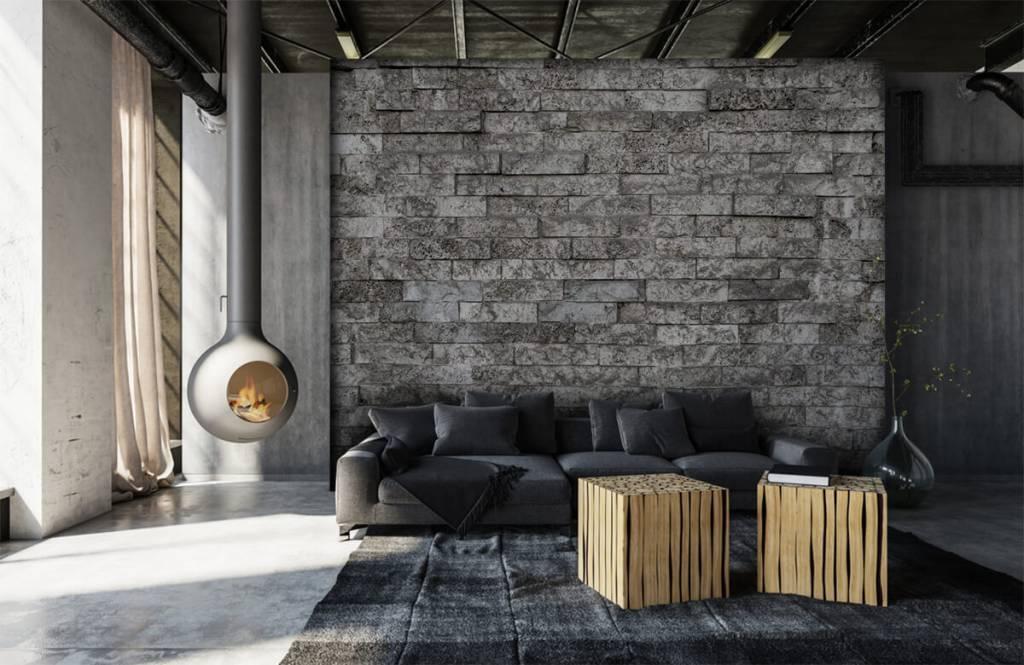 Stone wallpaper - Robust stones - Garage 7