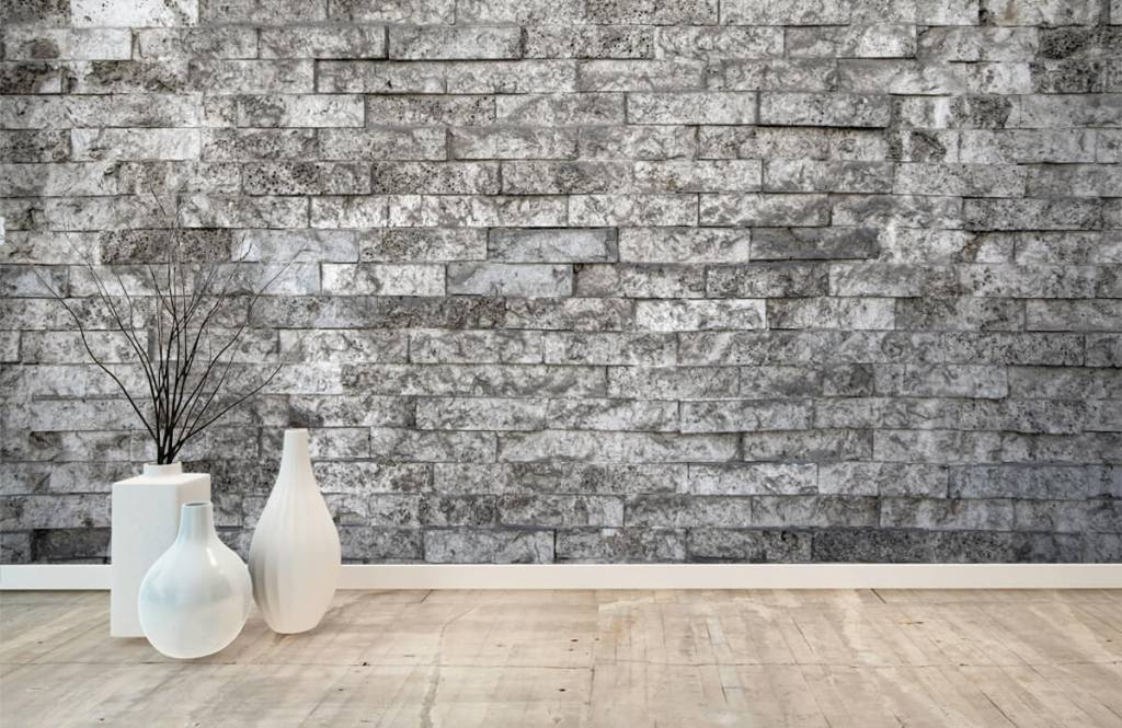 Stone wallpaper - Robust stones - Garage 8